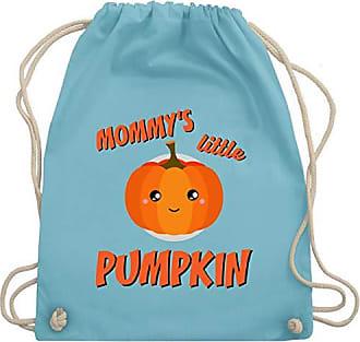 Halloween Little Unisize KinderMommys Pumpkin Wm110 Anlässe Gym Turnbeutelamp; Shirtracer Bag Hellblau XPukZOi