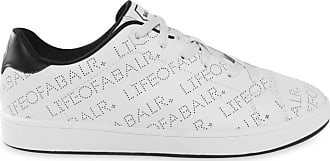 Sneaker Perforated Balr Weiß Leather Loab p1wxSY