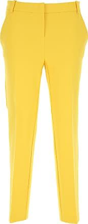 Giallo Pants 2017 Pantaloni Pinko 46 42 44 36 Viscosa 40 Donna 38 t6Rqpp1B
