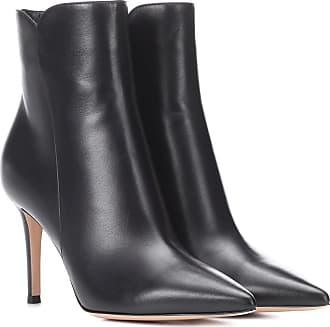 Cuir En Gianvito Rossi Bottines Levy UZqWtAx
