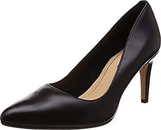 Leather Negro Eu Laina Zapatos Para De Mujer Clarks Tacón Rae black 40 41nWAxqz