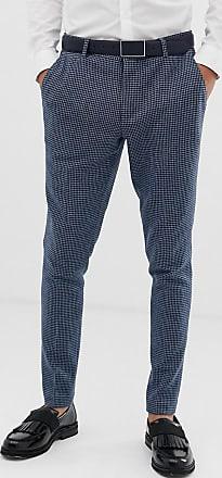 Gallo Traje Pantalones Asos Wedding Diseño Pata Muy En Ajustados Azul Design Con De xSwETwAq