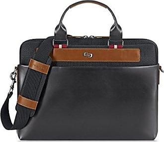 Solo Aktentasche erwachsene Einheitsgröße Black Southhampton 15 Laptop Unisex Slim Schwarz Brief 6 qwzrq5f