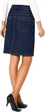 Jean Dark Blue Taille Haute Jupe Blancheporte YTxa4q