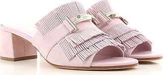 37 Suede Sale 2017 Women On 36 40 5 In Outlet 38 For Sandals Pink Tod's 36 Fxq481Owq