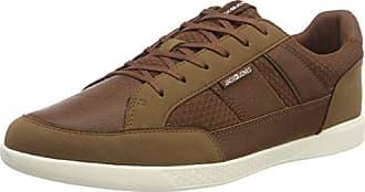 Cognac Braun Mesh Mix Sts amp; Herren Jack Jfwbyson Jones Sneaker YAvBSWxqOw