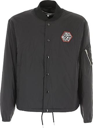Polyamide Alexander On Sale Outlet L Mcqueen Jacket For In Men Black S M 2017 qwrzqp