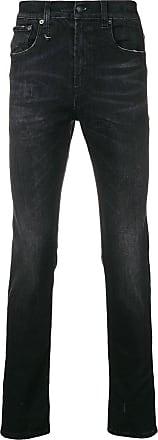 R13 Schwarz Schmale Schmale R13 Skate Jeans qvzqR