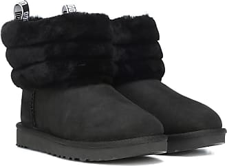 Bottines Daim Fluff Mini Ugg En Logo Quilted vPYqd