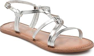 I Leather Damen Silber Shoes Für Kenania Sandalen Love r1fxwrznUF