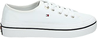 sneakers Tommy Tommy wit Hilfiger wit lage lage Hilfiger sneakers Tommy tXOnwvqg