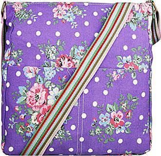 Umhängetasche Damentasche Umhängetasche Miss Miss Lulu Lulu Shopperviolett jSqzLMpVUG