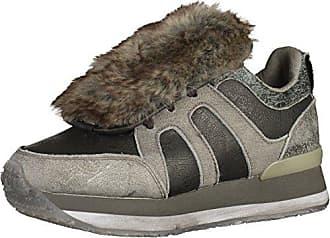 Eu Mundart nsn 38 Sneakers Damen Schwarz hellgrau 216 aFvaqY