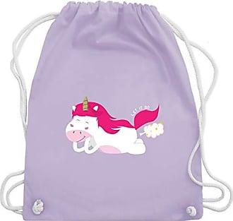Lila Shirtracer Wm110 Bag Pups EinhörnerEinhorn Pastell Turnbeutelamp; Unisize Gym gYbfy76v