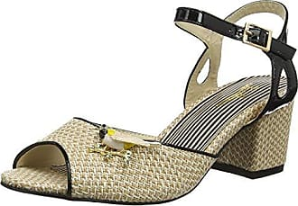 38 Para De Bird Browns Mujer A Descubierta Punta Shoes Song Joe natural Eu Sandalias Marrón q8ZUwfUO