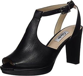 Charm 5 Clarks Kendra black Noir Escarpins Femme 37 Eu Leather ZRf5qSwR