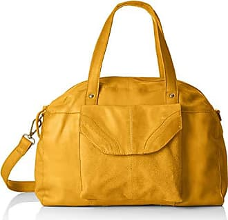 Amarillo Leather 5x27x38 Y H Cm Pieces X Gold Mujer Hombro mustard Bag De b Pcgro T 15 Bolsos Shoppers Daily vqR65RXw