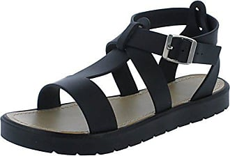 On Spot Schwarz On Damen Sandalen RYwqdB1xw