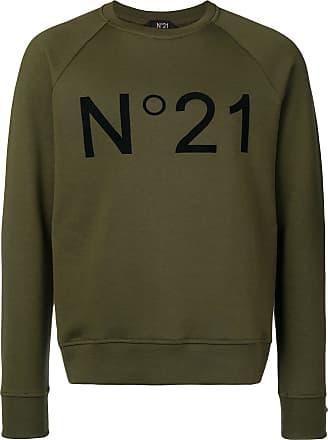 Sweatshirt Logo Logo Contrast Contrast Vert Contrast Logo Vert Vert Sweatshirt N°21 N°21 Sweatshirt N°21 7nxpSq