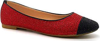 Damen London London Footwear Footwear Rot Ballerinas fdqtfx
