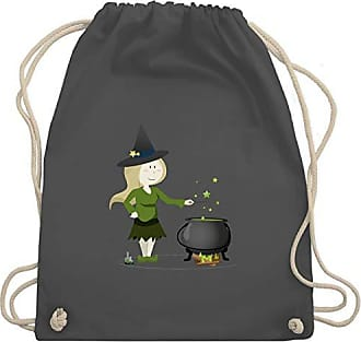 Bag Unisize Turnbeutel Shirtracer Kleine Wm110 Kinder Anlässe amp; Dunkelgrau Hexe Gym vwOwp4aq