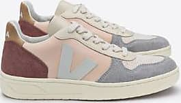 Trainer Veja red Multico V Grey pink 10 Nackte Uk5 qwPZxwz6