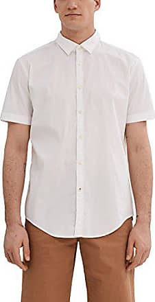 white Small Homme Chemise Esprit 997ee2f804 Casual Blanc YSXgnH