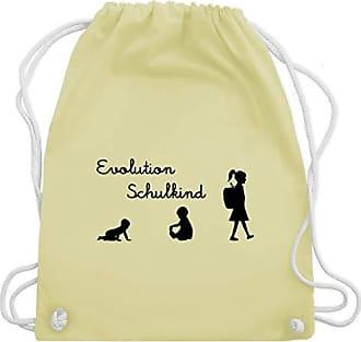 Schulkind Gym Turnbeutel Einschulung Gelb Shirtracer Wm110 amp; Evolution Unisize Mädchen Bag Pastell Av88qEHxw