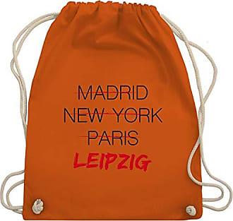 Turnbeutel Städte Länder Kind Orange Bag Weltstadt amp; Wm110 Gym Leipzig Unisize Shirtracer 7q6dZzxq