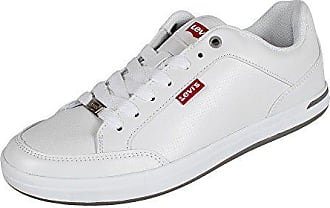 Eu Core noir White Regular 44 Sneaker Pu Aart Levi's Herren 51 Weiß PqxUaqgp
