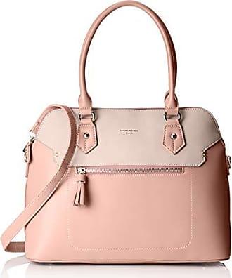pink Cm 5915 Bolsos Mujer 13x26x33 X Mano L David w H Jones De Rosa 3 BFWHqw