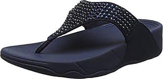 Con Eu thong Toe 399 Glitzie Abierta Mujer 38 Navy Sandals Punta Fitflop midnight Azul Para Sandalias CZxXwExq
