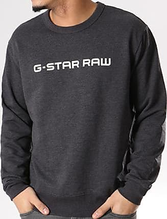 D08477 G Loaq Gris Star Chiné 9842 Sweat Anthracite Crewneck WIqaIr