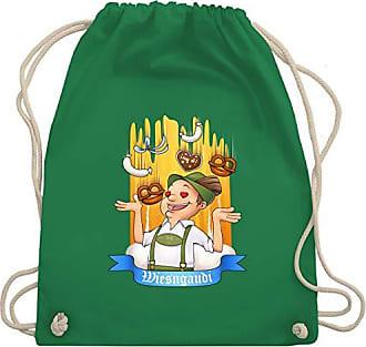 Herren Wm110 amp; Bag Unisize Shirtracer Turnbeutel Oktoberfest Wiesngaudi Grün Gym SXqw5Aa
