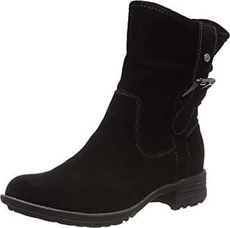 Efecto black 000 Eu Calf Arrugado Boot Botas Negro Hush Collie Mujer Puppies Para 38 PXOvqnpf