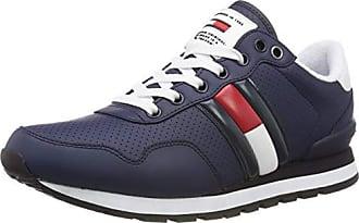 Jeans Denim Zapatillas Hombre Gris ink Eu 006 Hilfiger Para Lifestyle Tommy Sneaker 41 EXdSEx
