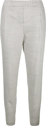 Trousers Marled Filippi Tapered Fabiana Gris Pwtxn