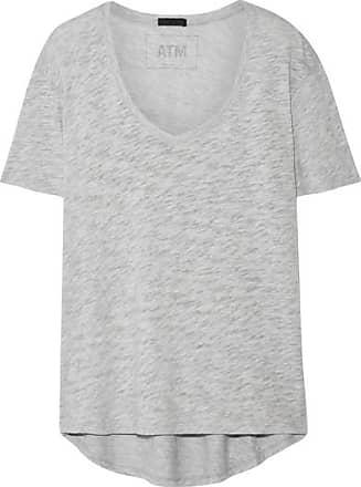 Shirt Supima Gris Thomas Melillo Jersey T Atm Coton En Flammé De Anthony Boyfriend FIpzSqw4