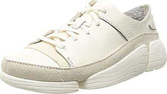 Eu Sneakers Damen 5 39 Clarks 1trigenicevowhite Wildleder TvnxgOP