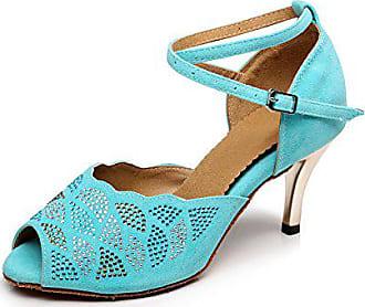 Türkis Heel Miyoopark 7 Größe 5cm 39 Turquoise Tanzschuhe Damen gxCqCwUZ