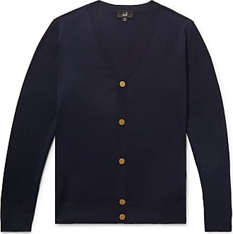Dunhill Blue Blue Midnight Dunhill Cardigan Dunhill Cardigan Wool Midnight Wool F4ZTxT