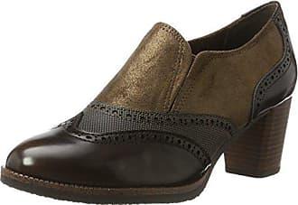 Slip Talon cafe Chaussures À Eu Marron On Marco 39 Femme Tozzi Comb 24400 Met qwYHa