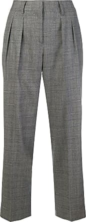 Trousers Fabiana Gris Checked Cropped Filippi rvqvt