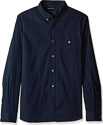 Multicoloured Camisa French Connection Hombre Small Casual Shirt Printed Classic Para Marine dot white wFBqpwRc