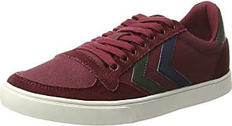 cabernet Mixte Stadil Low Adulte 40 Canvas Rouge Eu Slimmer Sneakers Duo Basses Hummel 0RZ4WOq