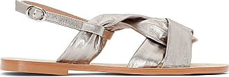 Cuir La Redoute Argent Collections Sandales wrrqCpx4