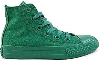 Converse All Monocolore 30 Verde Turnschuhe Hallo Junior Canvas 352701c High Star 4qgI4