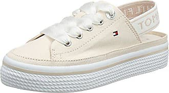 39 Sling Femme 642 Basses Back Argenté Tommy Flatform Eu Peony Pastel silver Sneakers Hilfiger Bwq74E7