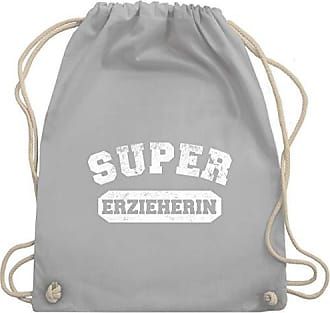 Erzieherin Gym Turnbeutel Bag Wm110 Shirtracer amp; Berufe Unisize Super Hellgrau Sonstige Vintage qU1Rnvt8