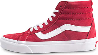 Rouge Blanche Femme Baskets hi Sk8 Et Reissue 40 Vans HzTSFqwn